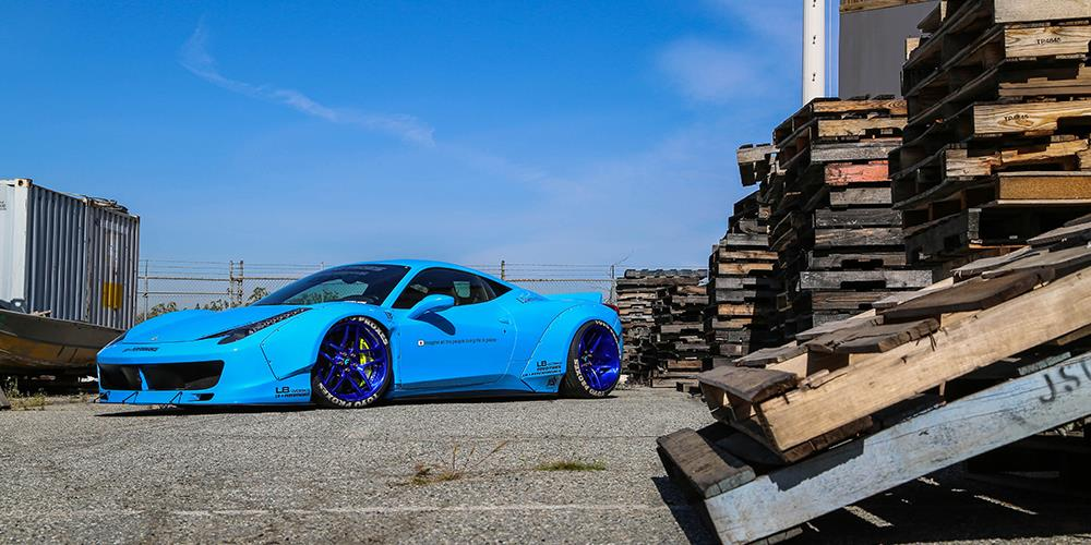 Sky-Blue-Liberty-Walk-Ferrari-458-1