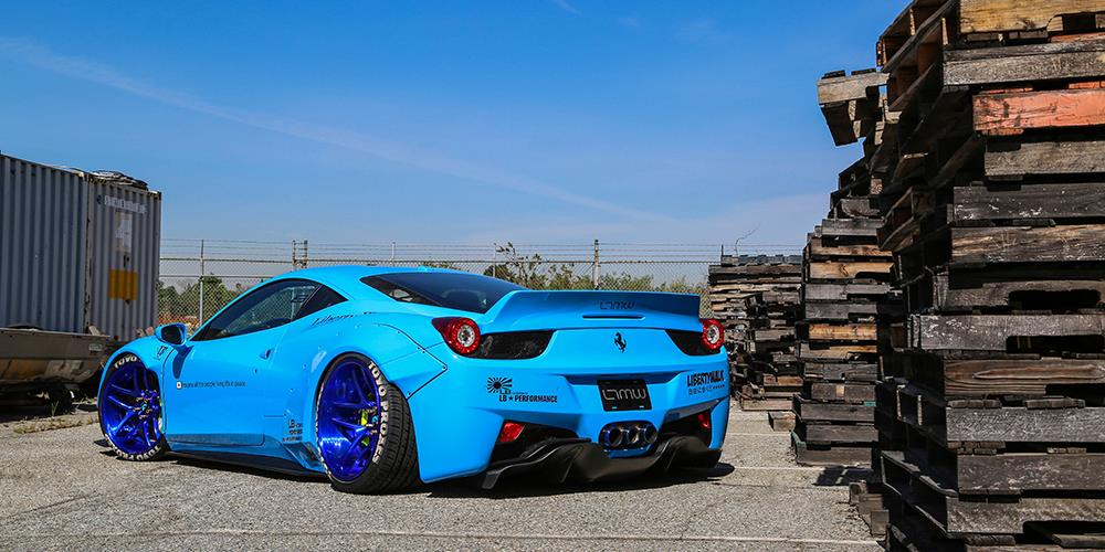 Sky-Blue-Liberty-Walk-Ferrari-458-4